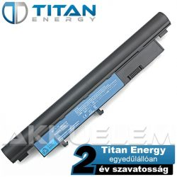 Titan Energy Acer AS09D70 5200mAh notebook akkumulátor - utángyártott