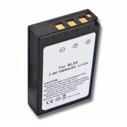 Olympus BLS-5 7,2V 1000mAh kamera akkumulátor – utángyártott