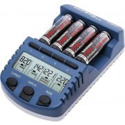 Technoline BC1000 LCD akkumulátor töltő