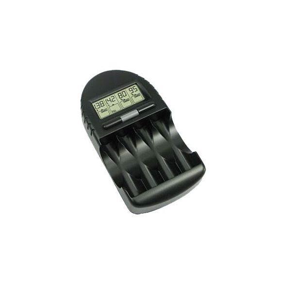 Technoline BC 450 LCD akkumulátor töltő