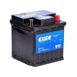 44Ah EXIDE Excell EB440 autó akkumulátor jobb+