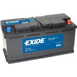 110Ah EXIDE Excell EB1100 autó akkumulátor jobb+
