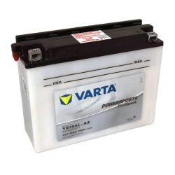 Varta YB16AL-A2 516016 motorkerékpár akkumulátor 12V 16Ah 120A JOBB+