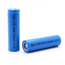 14500 lítium akkumulátor AA 3,7V 800mAh