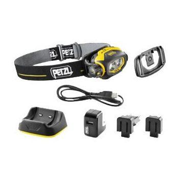 Petzl PIXA 3R fejlámpa ütésálló, tölthető