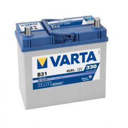 45Ah VARTA Blue Dynamic ASIA B31 545155 akkumulátor jobb+