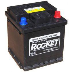 Rocket 54018 40Ah 350A (175x175x190mm) autó akkumulátor jobb+