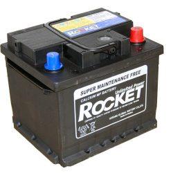 Rocket 12V 43Ah 420A autó akkumulátor (211x175x175mm) 54316 jobb+