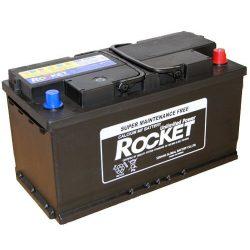Rocket 60044 100Ah 820A (353x175x190mm) autó akkumulátor jobb+