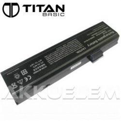 Titan Basic Fujitsu-Siemens L50-3S4000-S1P3 4400mAh notebook akkumulátor - utángyártott