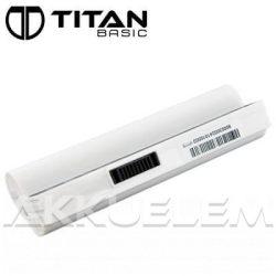Titan Basic Asus A22-P701 Eee 4400mAh fehér notebook akkumulátor - utángyártott