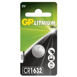 GP CR 1632 3V lítium gombelem