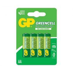 GP Greencell 15G 1,5V AA R6 féltartós elem 4db/csomag