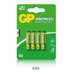 GP 24G 1,5V AAA R03 féltartós elem 4db / csomag