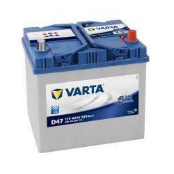 Varta Blue Dynamic D47 12V 60Ah autó akkumulátor jobb+ 560410