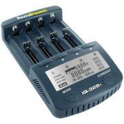 AccuPower IQ328+ LCD akkumulátor gyorstöltő