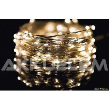 100LED 10m Nano 3,6W karácsonyi fényfüzér arany színű ZY1426