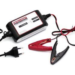 Carstel 12V 2A autó és motor akkumulátor töltő