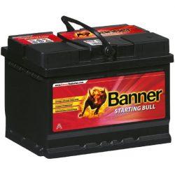 Banner Starting Bull 12V 55Ah 450A autó akkumulátor jobb+