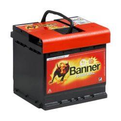 Banner Power Bull 12V 44Ah 420A P4409 autó akkumulátor jobb+