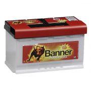 Banner Power Bull Professional 12V 84Ah 720A P8440 autó akkumulátor jobb+