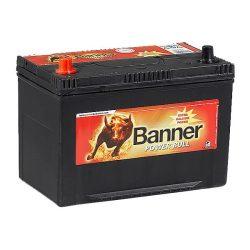 Banner Power Bull 12V 95Ah 740A P9505 autó akkumulátor ASIA bal+