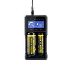 XTAR VC2 Plus multifunkciós akkumulátor töltő