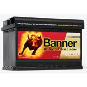 Banner Running Bull 12V 70Ah  AGM 570 01  Start-Stop akkumulátor Jobb+
