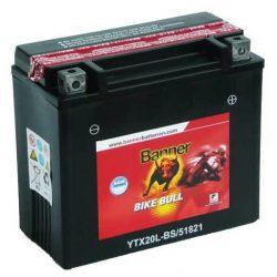 Banner YTX20L-BS 18Ah 12V motorkerékpár akkumulátor