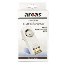 Arcas 3A USB fali adapter