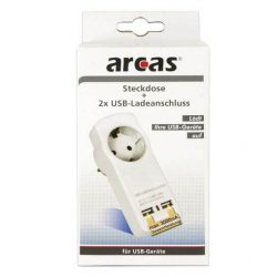 Arcas 3A USB fali adapter