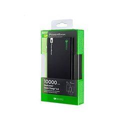 GP FP10MB 10000mAh 5V külső akkumulátor QuickCharge2.0 fekete színű