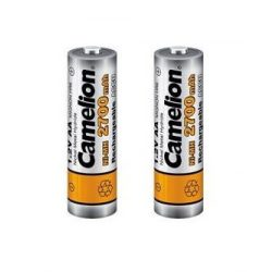Camelion AA 2700mAh 1,2V elemméretű akkumulátor / 2 db + akkudoboz
