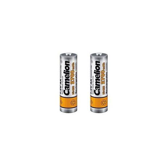 Camelion AA 2700mAh 1,2V elemméretű akkumulátor / 2 db