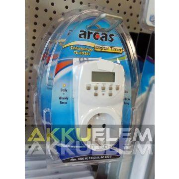 Arcas TS-ED201 hálózati digitális kapcsolóóra