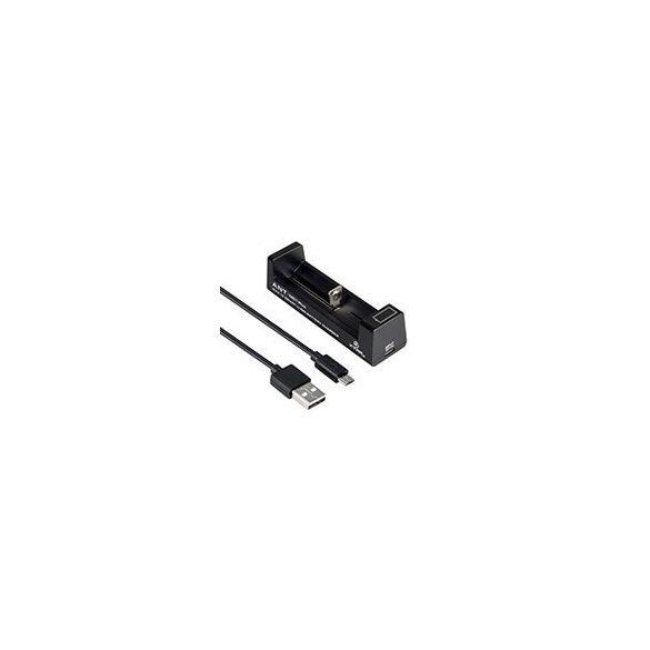 XTAR MC1 Plus ANT 5V Li-ion akkumulátor töltő LED-jelzős