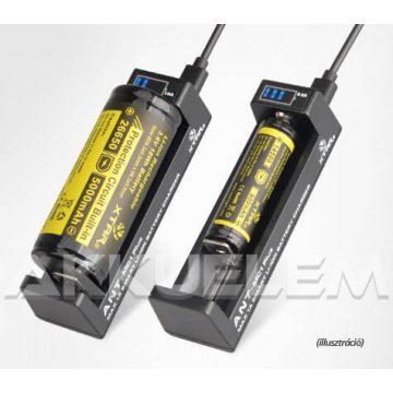 XTAR MC1 Plus ANT Li-ion USB-s akkumulátor töltő LED-jelzős