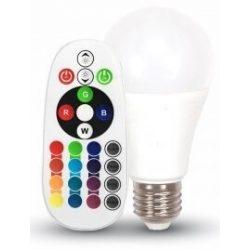 V-TAC 6W E27 LED-izzó 470lm távirányítós (4000K)