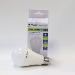 V-TAC Thermoplastic 15W E27 LED-izzó 1500lm meleg fehér fényű (2700K)