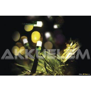 Karácsonyi fényfüzér 128LED 12m 3,6W kültéri, 8 üzemmód ZY1001