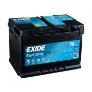 Exide Start-Stop akkumulátor EFB EL700 12V 70Ah 630A JOBB+