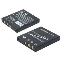 Panasonic CGA-S004/ BCB7 800mAh utángyártott fényképezőgép akkumulátor