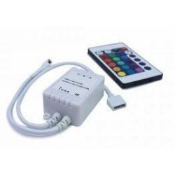 V-TAC SMD 5050 RGB LED szalag vezérlő és távirányító 16 gombos