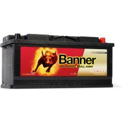 Banner Running Bull 12V 105Ah 950A autó akkumulátor AGM 60501 jobb+