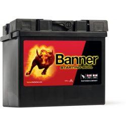 Banner Starting Bull 12V 30Ah teherautó akkumulátor 53030 jobb+