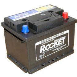Rocket 54Ah 12V autó akkumulátor 55457 jobb+