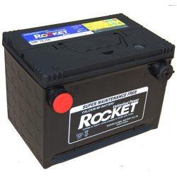 Rocket SMF 78-780 74Ah 12V autó akkumulátor USA oldalcsavaros