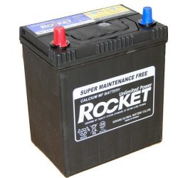 Rocket 40Ah 12V autó akkumulátor 42B19R ASIA vékonysaru bal+
