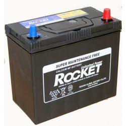 Rocket 45Ah 12V autó akkumulátor NX100-S6L ASIA vékonysaru jobb+
