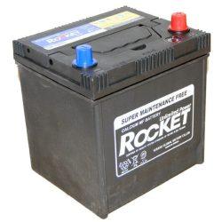 Rocket 50Ah 12V autó akkumulátor 50D20L ASIA jobb+